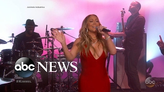 Mariah Carey returns to TV after New Year