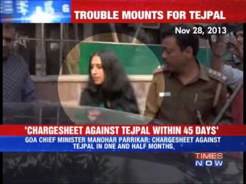 Police to file chargesheet against Tejpal in 45 days