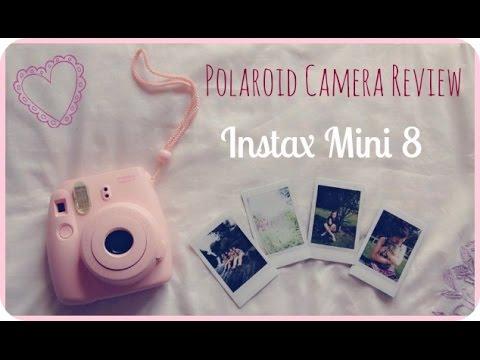 ♥ Polaroid Camera Review & DEMO! | Instax Mini 8 ♥
