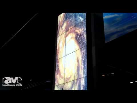 InfoComm 2015: NEC Talks About the 3×5 Video Wall Using X554UN With Ultra Thin Bezel