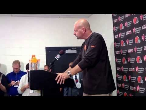 Browns coach Mike Pettine after loss to Steelers