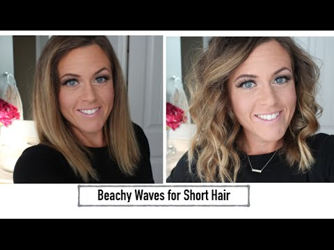 Hair Tutorial: Beachy Waves for Short Hair