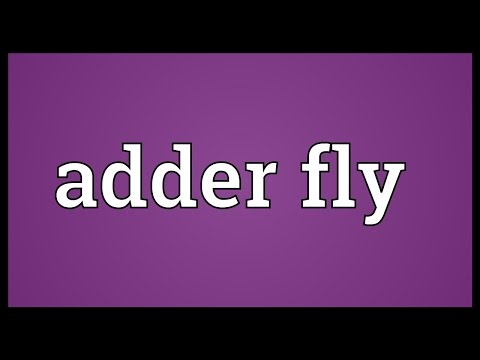 Header of adder fly