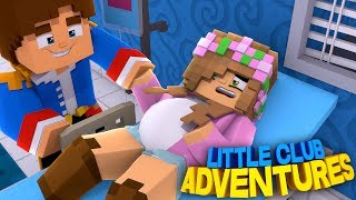 PREGNANT LITTLE KELLY HAS AN ACCIDENT!!! - Minecraft Little Club Adventures