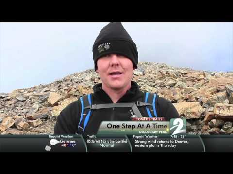 Tomer's Trails - Quandary Peak - We hike to the summit of Quandary Peak with John Olson, who suffers from epilepsy. An emotional and satisfying climb!