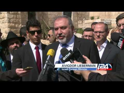 Lieberman in Hebron