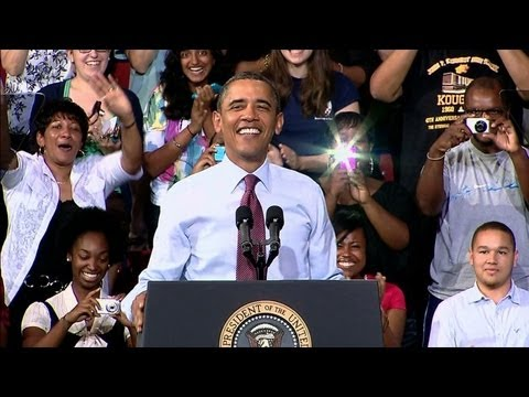President Obama Discusses the American Jobs Act