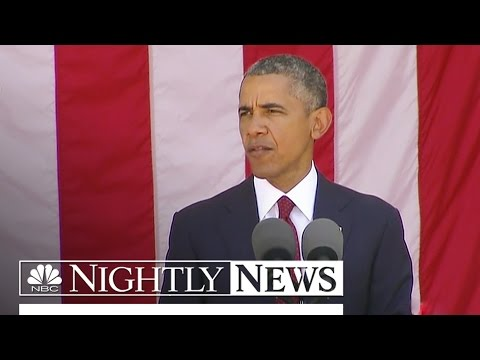 A Memorial Day At A Crossroads As Obama Pays Tribute | NBC Nightly News