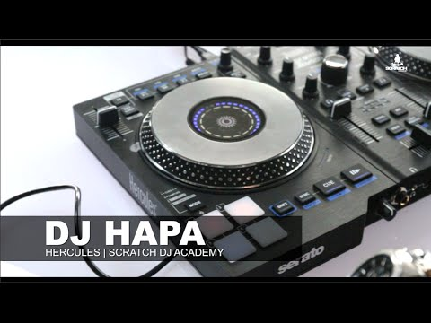 Hercules JogVision Controller | Dropping on the one I Manual beat matching