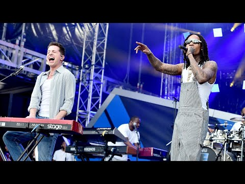 """Charlie Puth & Wiz Khalifa """"See You Again"""" LIVE at """"The Road To F9"""" concert in Miami, Florida"""