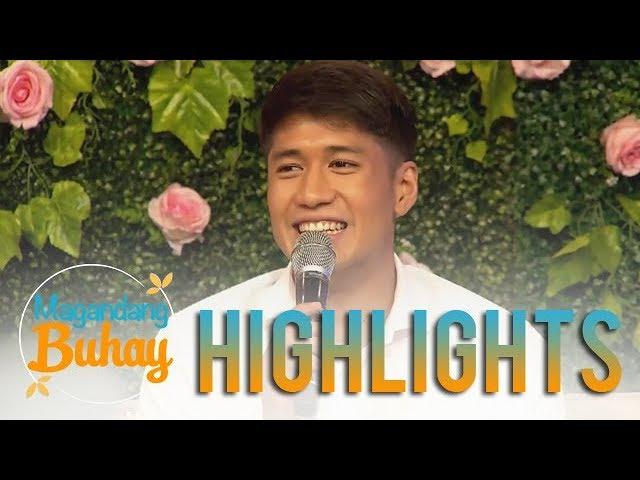 """Magandang Buhay: Aljur Abrenica shares his experience during his """"pamamanhikan"""""""