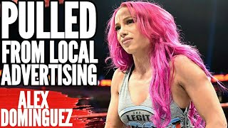 "Sasha Banks ""PULLED"" From Local Advertising"