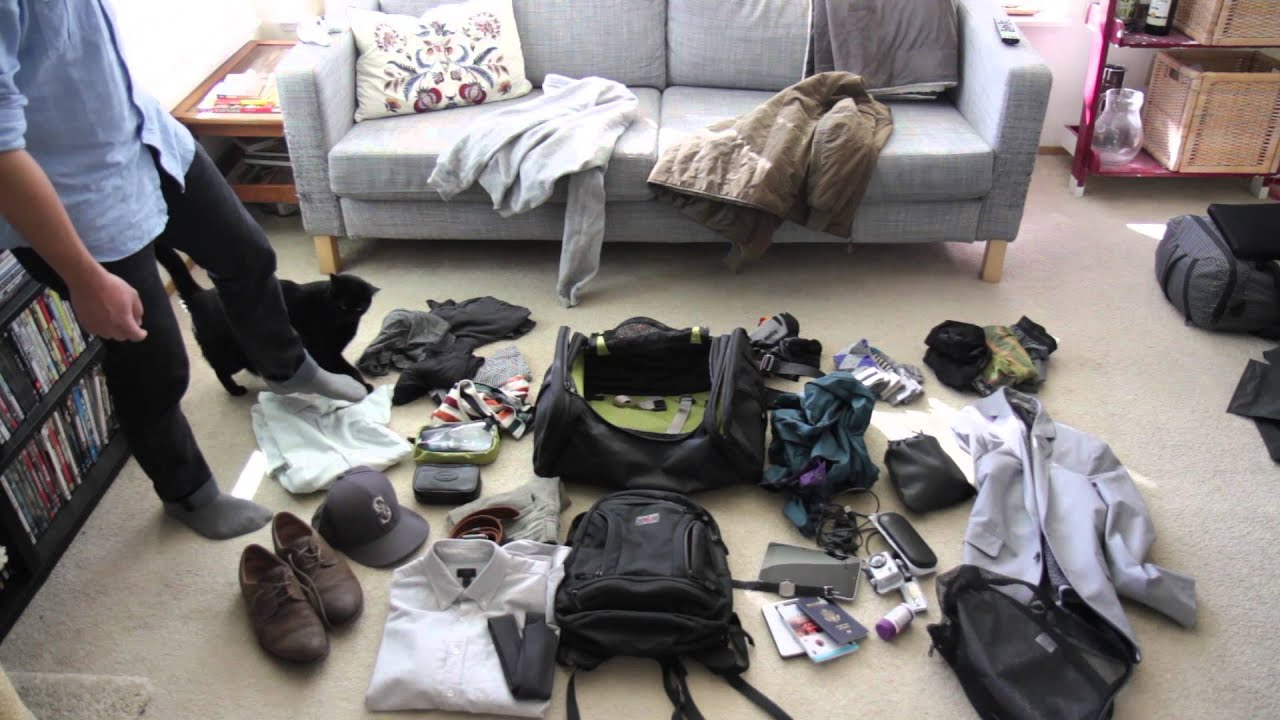 Part one: Packing for a trip to Japan