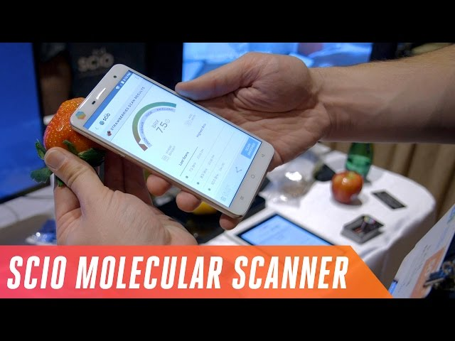 Phone with a molecular sensor