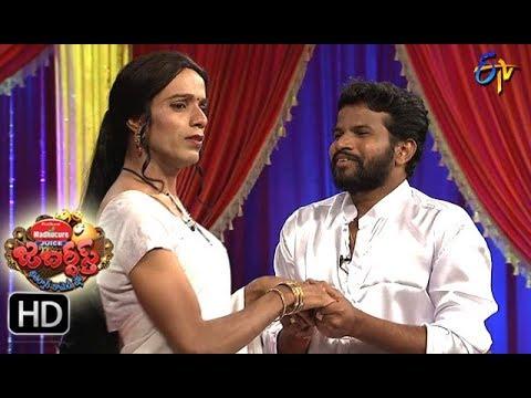 Jabardasth Telugu Comedy Show ,31st august 2017,Hyper adhi performance- ETV Telugu
