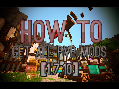 Minecraft Tutorial: How to get/install all PvP Mods [1.7.10]