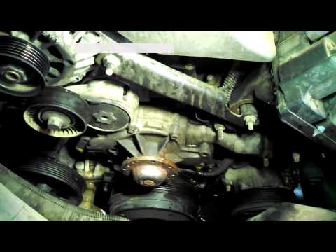 Water pump replacement 1998 Chevrolet Lumina 3.8L V6 Install Remove Replace