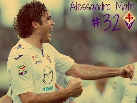 Alessandro Matri - Fiorentina All Goals
