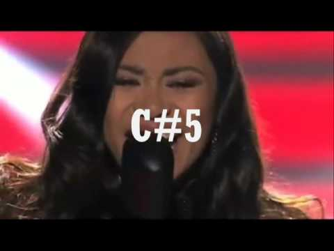 Jessica Sanchez vs Demi Lovato Live Vocal Battle [B4-G5]