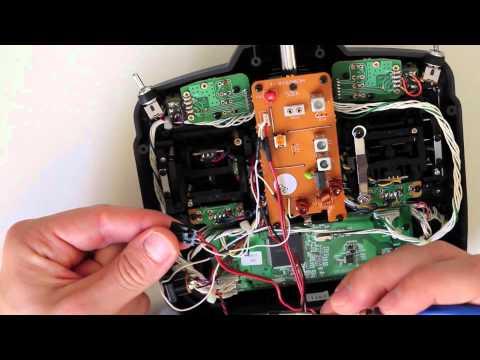 FrSky V8HT 2.4Ghz DIY Module Installation and Binding