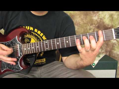 Foo Fighters - Best of You - Rock Guitar Lessons - How to Play - Dave Grohl