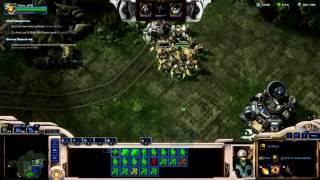 StarCraft II: Wings of Liberty - Fenix Gameplay Video 8