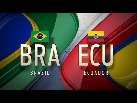 Brazil vs Ecuador 2-0 - All Goals & Highlights - World Cup Qualifiers 31/08/2017 HD