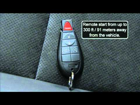 2012 Dodge Challenger | Key Fob - YouTube