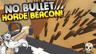 "GangZ Unturned Gameplay - ""NO BULLET HORDE BEACON...FOR REAL!!!"" - Unturned PvP Multiplayer"