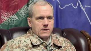 Denmark Armed Forces Chief of Staff visits NATO Training Mission - Afghanistan (English)