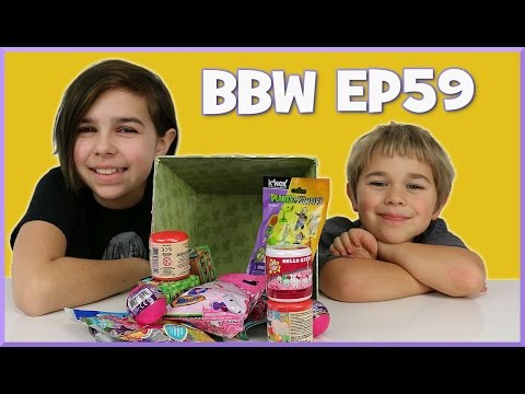 Blind Bag Wednesday Ep59 - Hello Kitty, Flappy Bird And Plants Vs Zombies - Surprise Opening video