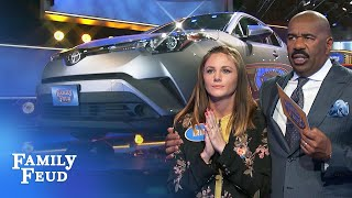 Car Stars: Gaines Family 🚗⭐️ | Family Feud