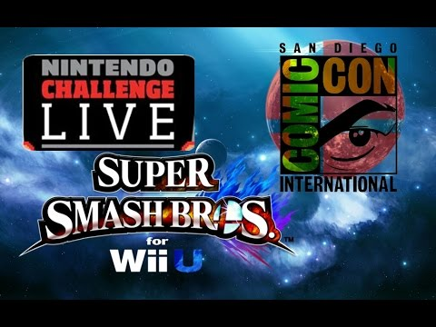 Super Smash Bros. Wii U - Comic-Con Tournament