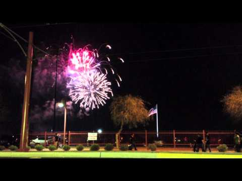 FIREWORKS 4TH OF JULY PHOENIX ARIZONA 2012 (song by KATY PERRY...