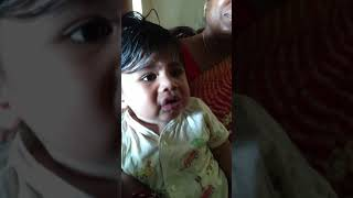 Adorable reaction( first time tasted lemon)