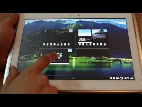 Jelly Bean (Android 4.1.1)  on Note 10.1 (N8000) Review video