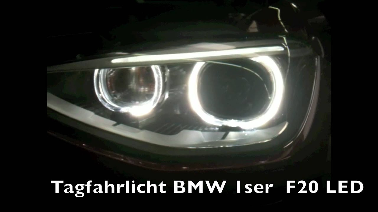 tagfahrlicht des brandneuen 1ser bmw f20 youtube. Black Bedroom Furniture Sets. Home Design Ideas
