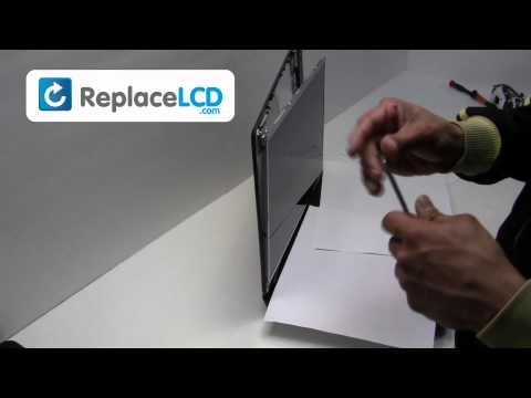 eMachines LCD Screen Replacement Guide - Replace Fix Repair Install Laptop - Acer E625 E525