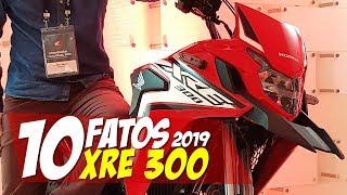 10 FATOS: Nova XRE 300 2019, tudo que mudou! - 10F16 Motorede
