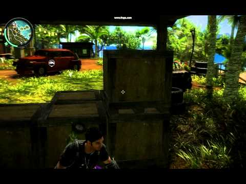 Soltando biribinha no quintal - Just Cause 2