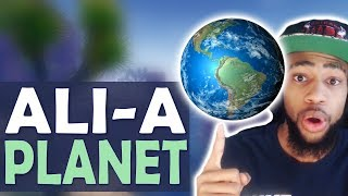 DAEQUAN TV SHOW - ALI-A PLANET | TROLLING - (Fortnite Battle Royale)