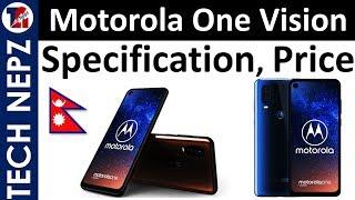 [Nepali] Motorola One Vision Specs, Features Details | Motorola One Vision  Launch Price in Nepal