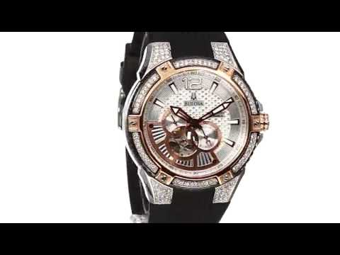 Bulova Men's 98A129 Self Winding Mechanical Watch