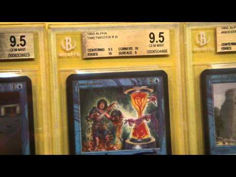 Vintage Magic Reviews | ALL Three Blue Power 9 from Alpha Magic: The Gathering