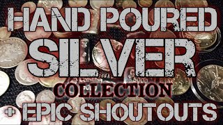 Silver Poured Shoutouts, Hand Poured Silver Collection