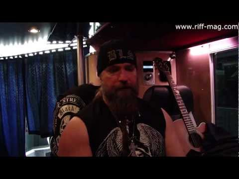Zakk Wylde | Black Label Society interview at Hellfest 2012