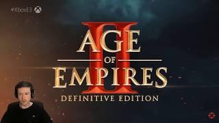 AGE OF EMPIRES 2 DEFINITIVE EDITION E3 2019 REACTION