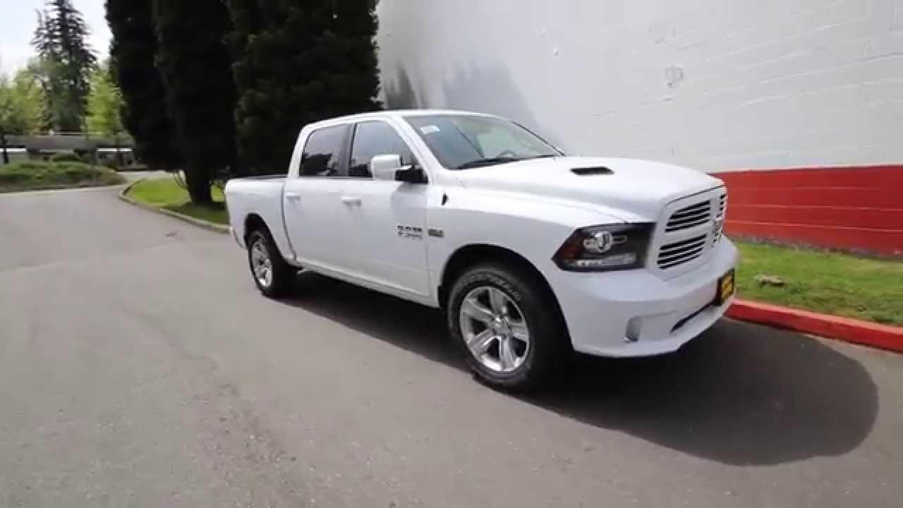 White Dodge Ram 1500 2014 2014 Dodge Ram 1500 Sport Crew