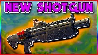 *NEW* LEGENDARY SHOTGUN | Fortnite Battle Royale