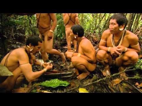 Охотники на обезьян! Дикое племя в Амазонке!